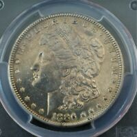 1886-S MORGAN SILVER DOLLAR CERTIFIED PCGS AU DETAILS, GREAT TONING A-946