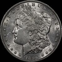 1896-P MORGAN $1 VAM 4 DOUBLED STARS - PHILADELPHIA MINT - TOP 100