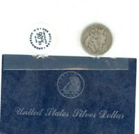1884 MORGAN DOLLAR $ GSA SOFT PACK WITH ENVELOPE   934620-7