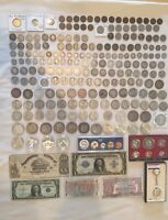 US COIN / PAPER MONEY LOT   GOLD SILVER   RARE KEY DATES   1
