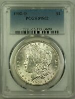 1902-O MORGAN SILVER DOLLAR $1 COIN PCGS MINT STATE 62 22