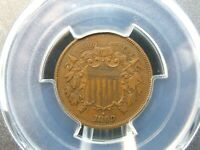 1869 TWO CENT PIECE 2C PCGS AU53  EAST COAST COIN & COLLECTABLES, INC.