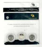 2011   GETTYSBURG NATIONAL MILITARY PARK MINTS ATB 3 COIN QU