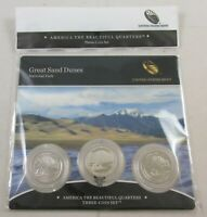 2014 GREAT SAND DUNES AMERICA THE BEAUTIFUL QUARTERS 3 COIN