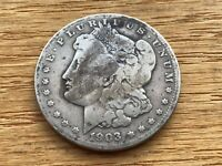 1903-S MORGAN SILVER DOLLAR  DATE  @@@ MUST SEE @@@ LOT M1604