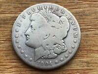 1904-S MORGAN SILVER DOLLAR  DATE  @@@ MUST SEE @@@ LOT M1605
