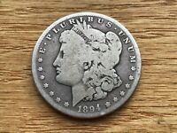 1894-S MORGAN SILVER DOLLAR  DATE  @@@ MUST SEE @@@ LOT M1606