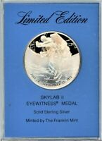 FRANKLIN MINT EYEWITNESS MEDAL   SKYLAB 2