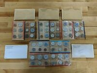 1959 1963 UNITED STATES UNCIRCULATED MINT SET WITH P D