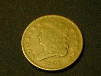 1828 US CLASSIC HEAD HALF CENT OLD COIN FOR COLLECTION 13 ST