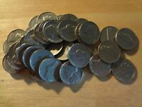 FULL ROLL 1968 S JEFFERSON NICKELS  AVG. CIRCULATED  40 COINS