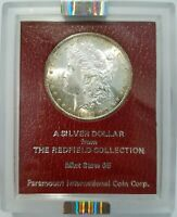 1890 S MORGAN DOLLAR NGC MINT STATE 63 REDFIELD COLLECTION HOARD PEDIGREE PARAMOUNT