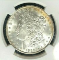 1889 VAM 16 NGC MINT STATE 65 MORGAN SILVER DOLLAR - GENE L. HENRY LEGACY COLLECTION