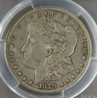 1879 CC PCGS EXTRA FINE  40 CAPPED DIE MORGAN DOLLAR