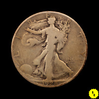 1928-S WALKING LIBERTY HALF DOLLAR, VG CONDITION, BETTER DATE OLD US SILVER