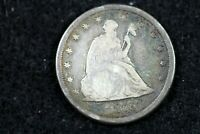 ESTATE FIND 1875   CC SEATED LIBERTY TWENTY CENT PIECE   J01