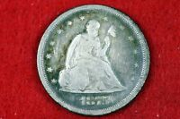 ESTATE FIND 1875   S SEATED LIBERTY TWENTY CENT PIECE   H104