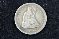 ESTATE FIND 1875   S SEATED LIBERTY TWENTY CENT PIECE   H161