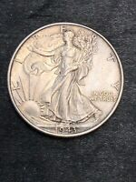 1943 WALKING LIBERTY SILVER HALF DOLLAR  BU UNCIRCULATED