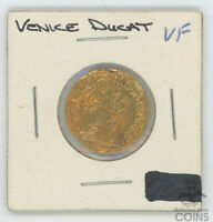 VERY  MEDIEVAL ITALY GOLD COIN DUCAT VENICE ALOY MOCEN 3.3 G