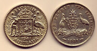 1931 & 1941  FLORINS:  LOVELY SILVER COINS :   NO  RESERVE