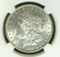 1889 VAM 22 NGC MINT STATE 61 MORGAN SILVER DOLLAR-GENE L HENRY LEGACY COLLECTION