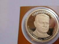 2014-S  PRESIDENT HOOVER DOLLAR FROM PROOF SET IN PLASTIC FROM MINT   B-27-20