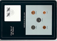 COIN SETS OF ALL NATIONS ICELAND W/CARD ALL 1981 UNC 2 200