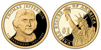 2007 S GEM PROOF THOMAS JEFFERSON PRESIDENTIAL DOLLAR UNCIRCULATED DCAM COIN PF
