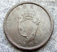IRELAND GEORGE III 1805 ONE PENNY COPPER