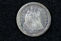 ESTATE FIND 1842 - O SEATED LIBERTY DIME   J00733