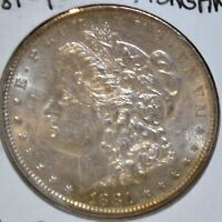 1881-P MS UNCIRCULATED/UNC MORGAN SILVER DOLLAR $1 HIGH QUALITY COIN