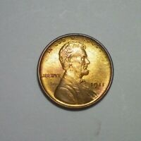 1911  S LINCOLN CENT  BU DETAIL