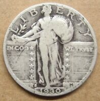 1930-S STANDING LIBERTY QUARTER TAKE A LOOK