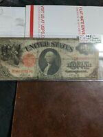 SERIES OF 1917 ONE DOLLAR $1 UNITED STATES LEGAL TENDER BANK NOTE SHORT SERIAL