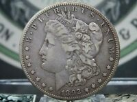 1892 S MORGAN SILVER DOLLAR $1 2 EAST COAST COIN & COLLECTABLES, INC.