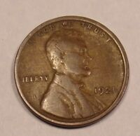 1921 LINCOLN WHEAT CENT .COMBINE SHIPPING $3.89 LOT 101
