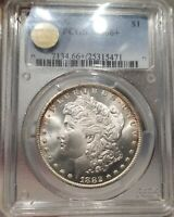1882 CC - MINT STATE 66 - PCGS CERTIFIED - PQ APPROVED - MAGNIFICENT CARSON CITY STRIKE