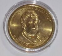 2009 WILLIAM H. HARRISON PRESIDENTIAL DOLLAR COIN - $1 COIN USD  COIN CAPSULE