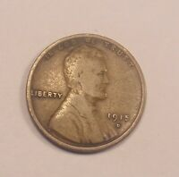 1915 D LINCOLN WHEAT CENT . COMBINE SHIPPING. LOT 184