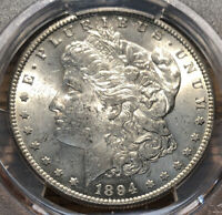1894 S MORGAN SILVER DOLLAR PCGS MINT STATE 61 S$1