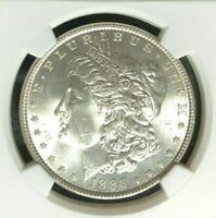 1886 VAM 21 NGC MINT STATE 62 MORGAN SILVER DOLLARGENE L HENRY LEGACY COLLECTION36041