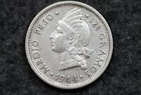1944 DOMINICAN REPUBLIC SILVER MEDIO