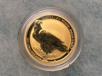 1/10 OZ GOLD 2017 PERTH AUSTRALIAN WEDGE TAILED EAGLE COIN G