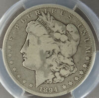 1894 MORGAN SILVER DOLLAR - PCGS G06 -  KEY 1894 P