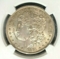 1881-O VAM 27 NGC AU 58 MORGAN SILVER DOLLAR - GENE L. HENRY LEGACY COLLECTION