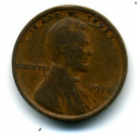 1918 P WHEAT CENT KEY DATE US CIRCULATED ONE LINCOLN  1 CENT U.S COIN 1543