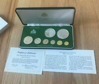 1976 GUYANA PROOF SET WITH SILVER    NEW IN BOX