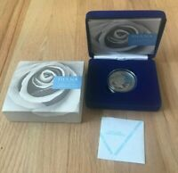 1999 GREAT BRITAIN 5 POUNDS SILVER PROOF   PRINCESS DIANA   NEW IN BOX