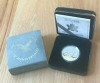 1987 1997 CANADA 1 ONE DOLLAR SILVER PROOF   LOON DOLLAR ANNIVERSARY  NEW IN BOX